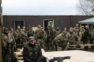 Airsoft group briefing